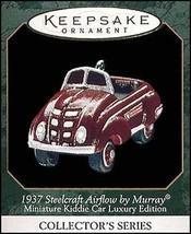 Kiddie Car Lux. - 1937 Steelcraft Airflow 1999 Hallmark Ornament QXM4477 - $3.85