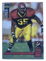 Willie McGinest 1994 Upper Deck Collectors Choice #8 Rookie New England Patriots - $0.99
