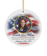 "Kamala Harris 49th Vice President Inauguration Commemorative Keepsake 3""... - £14.35 GBP"