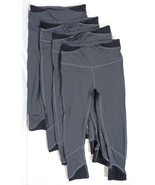 Lot Of (4) Champion Women's Stretch Fit Activewear Leggings, Gray, Size ... - $19.79