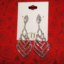Glitz To Go Crystal Costume Earrings image 4