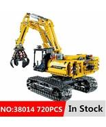 Toys Set Technic Excavator Building Blocks Model Brick Motors Kids Child... - $25.77+