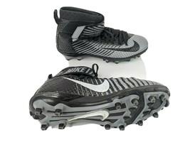 Nike Skin Mens US 11 EUR 45 Black Gray Lunar Beast Football Cleats - $20.53