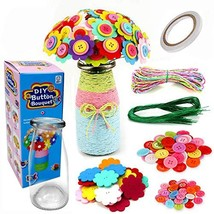 Rainmae Flower Craft Kit- Crafts and Art Set, Make Your Own Flower Bouqu... - $19.43