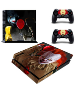 Stephen King's It Joker Vinyl Skin Decal Sticker for PS4 PlayStation Con... - $12.50