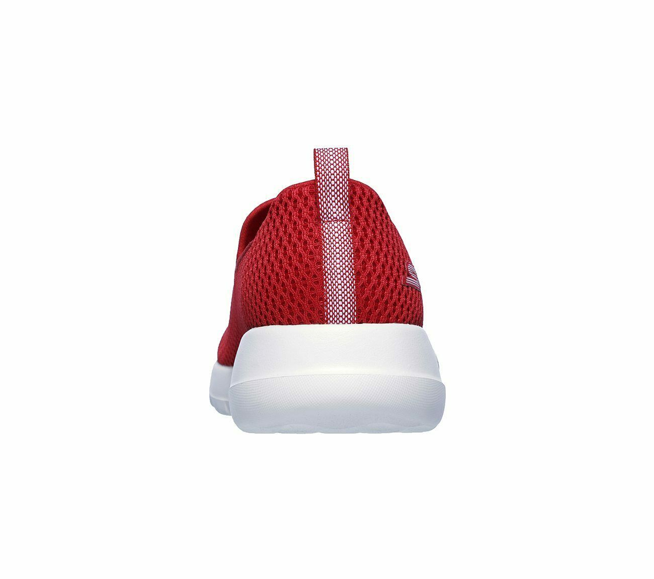Skechers Shoes Red Go Walk Joy Women Sport Soft Casual Slipon Comfort Mesh 15600 image 6