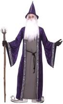 Forum Novelties Men's Wizard Adult Costume, Purple, Standard - $41.82
