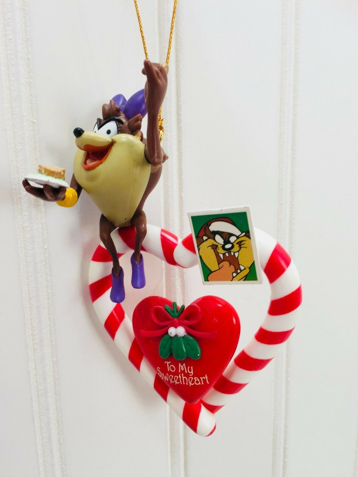 MATRIX LOONEY TUNES Taz Sweetheart ORNAMENT Christmas 22793