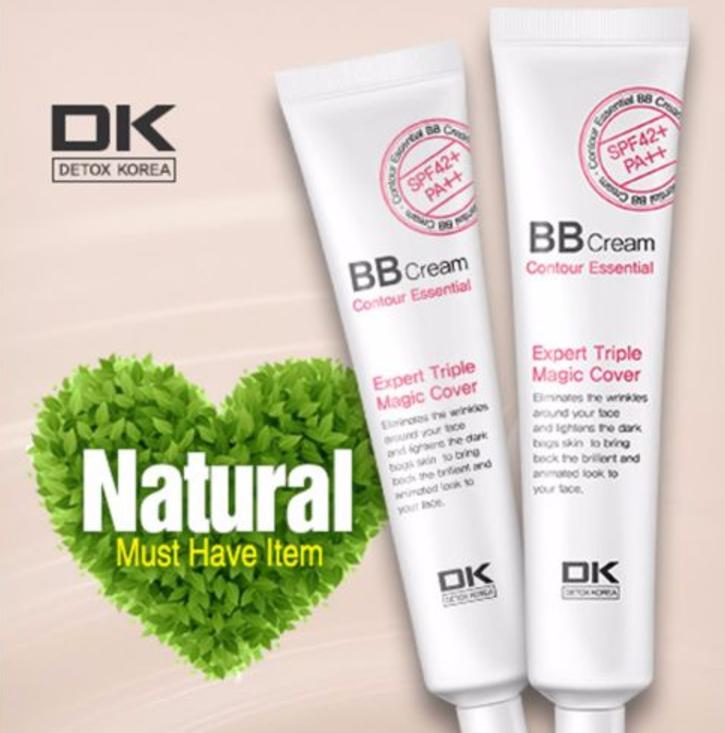 Detox Korea Expert Triple Magic Cover Makeup Contour Essential BB Cream 35ml