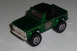 Matchbox Green 1972 Ford Bronco Near Mint 1/57 scale - $1.99