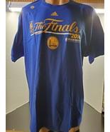 NBA Golden State Warriors 2016 Adidas The Finals Locker Room Edition T-shirt - N - $17.40