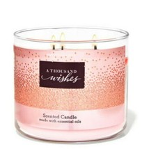 Bath & Body Works A Thousand Wishes 3 Wick Scented Candle 14.5 oz - $28.04