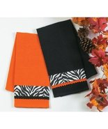 Halloween Party Animals! Zebra Accent Decorations - Kay Dee Designs 2-pc... - $18.99