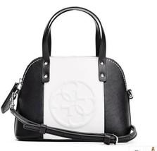 NWT Guess Korry Crossbody mini Satchel purse Handbag Color Block Black W... - $19.79