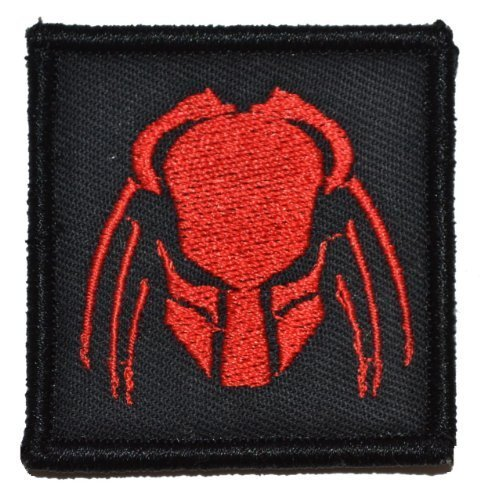 Predator Head 2x2 Military Patch / Morale Patch - Multiple Colors (Olive Drab...