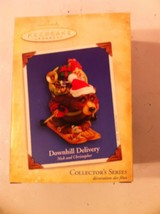 HALLMARK DOWNHILL DELIVERY  ORNAMENT---2004---TRACY LARSEN----FREE SHIP-... - $8.09