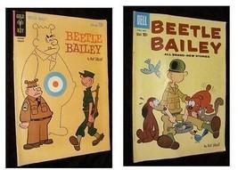 Beetle Bailey Comics Lot April/May 1960 Dell  February 1963 Gold Key - $12.99