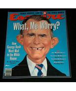Esquire Magazine June 1992 George Bush What Me Worry? John Gotti's Goodb... - $12.85