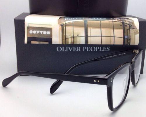 0bdec0de722 New OLIVER PEOPLES Eyeglasses NDG-1 OV 5031 1005 50-19 144 Black Plastic  Frames