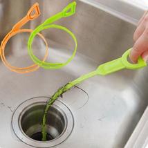 Honana Plastic Sink Drain Dredge Pipeline Hook Hair Cleaning Tool Kitche... - $12.99