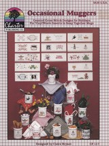 Occasional Muggers, Charter Publishing Co Cross Stitch Pattern Booklet C... - $3.95
