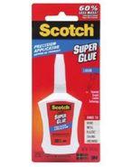 Scotch Super Glue Liquid in Precision Applicator 0.14 oz [New] - $10.88