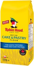 Robin Hood Cake & Pastry Flour 2 x 2.5kg bags Canada - $79.99
