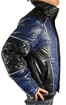 Ed Hardy By Christian Audigier Men's Premium Puffer Nylon Jacket Blue size XL image 3