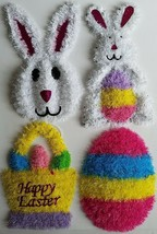 "Easter Tinsel Wall Decor 14""H x 9""W x 1""D, Select: Design - $2.99"