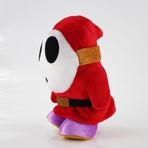 14cm Shy Guy Plush Toy Super Mario Stuffed Plush Doll Soft Baby Toy Free... - $9.39