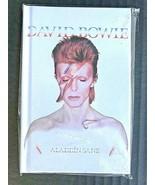 David Bowie Blank Notebook Aladdin Sane Cassette Style Design - NEW - A2 - $5.05
