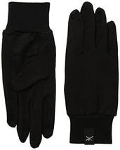 Terramar Adult Thermasilk Ultra-Thin Performance Liner Gloves, Black, X-Small 5.