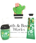Bath and Body Works Green Tea Hand Cream Pocketbac & Cactus Case - $20.22