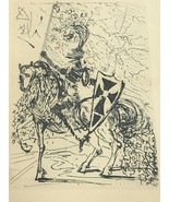 EL CID Original Etching by SALVADOR DALI - $178.19