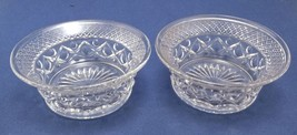 Pair Imperial Cape Cod 5 Inch Flared Dessert or Fruit Bowls - $19.35