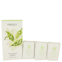 Lily Of The Valley Yardley 3 X 3.5 Oz Soap 3.5 Oz For Women  - $31.38