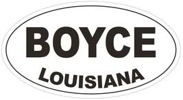 Boyce Louisiana Oval Bumper Sticker or Helmet Sticker D3790 - $1.39+