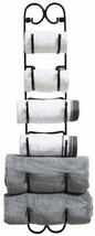 Wall Mounted Towels Wine Display Holder Caps Hooks Rack Bag Organizer NEW - $42.30