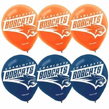 Charlotte Bobcats NBA Pro Basketball Sports Party Decoration Latex Balloons - $6.17