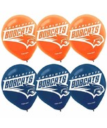 Charlotte Bobcats NBA Pro Basketball Sports Party Decoration Latex Balloons - $6.17