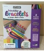 Arts and Crafts Box Kit Friendship Bracelets Set Design Make Share Kits ... - $11.99