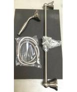 Mico 731-SN Shower Wall Bar Set- Satin Nickel - $290.24