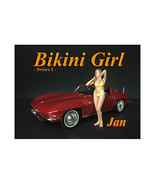 Jan Bikini Calendar Girl Figure for 1/18 Scale Models by American Diorama - $17.14