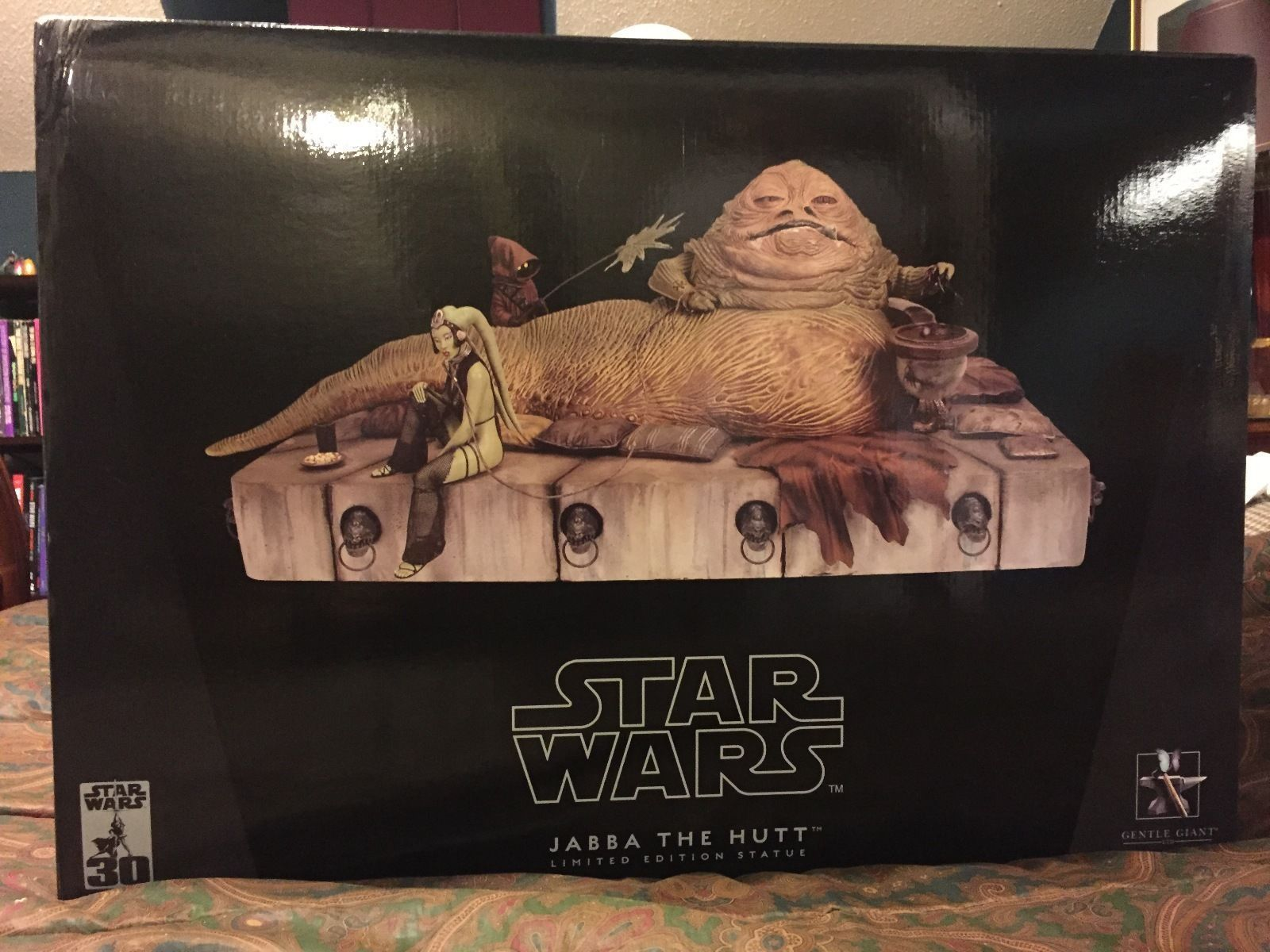Star Wars Jabba the Hutt Statue Gentle Giant New HTF