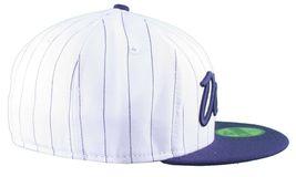 Dissizit NEW ERA Aderente Cappello Baseball Bianco/Navy Pinstripe York City Nyc image 3