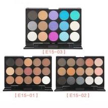 Eyeshadow Palette 15 Colors Shimmer Matte EyeShadow Waterproof Mineral G... - $5.99