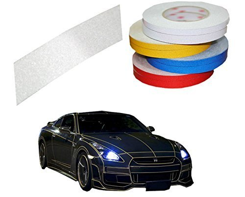Motorcycle Car Automotive Reflective Tape Car Vehicle Reflective Decals White