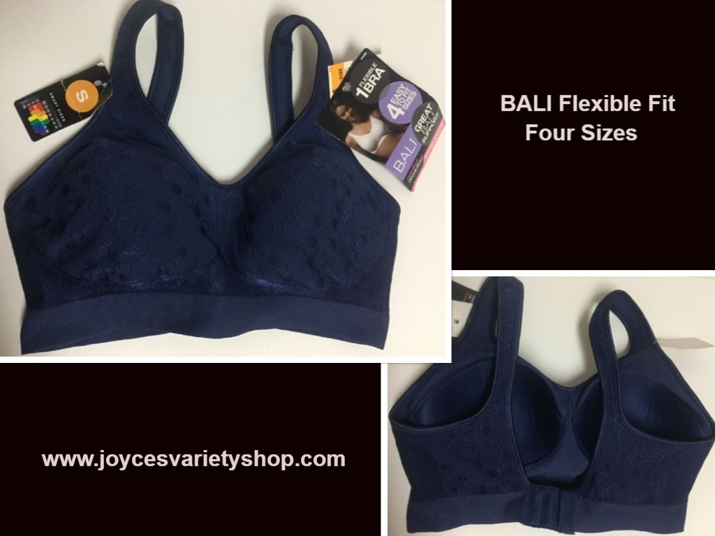 Bali blue flex bra web collage