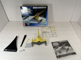 AMT ERTL Naboo Starfighter Star Wars Episode I 1:48 Model Kit # 30130 Parts Lot - $12.86
