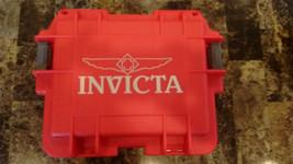 Invicta 3 Slot Red Case - $44.99